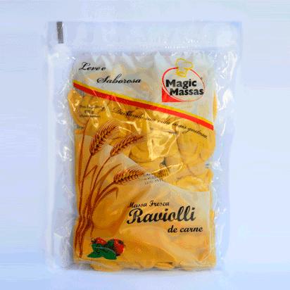 Embalagem  Magic Massa Raviolli